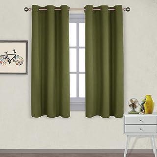 Amazon.com: Green - Panels / Draperies & Curtains: Home & Kitchen