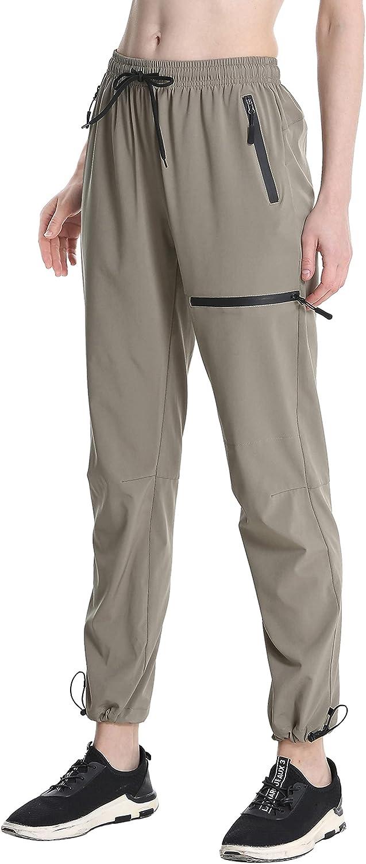 Susclude Women's Deluxe Cargo Hiking Pants UPF50+ Resiste Water OFFicial site Outdoor