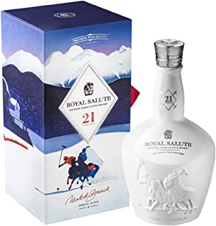 Chivas Brothers Royal Salute 21 Years Old THE SNOW POLO EDITION Blended Grain Scotch Whisky 1 x 0.7 l