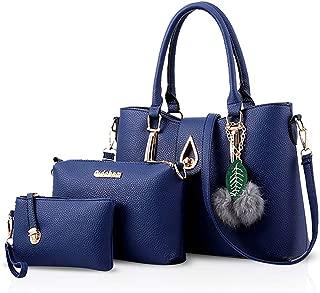 Fashion 3 PCS handbag Women Shoulder Bag Crossbody Totes Messenger Soft PU Leather