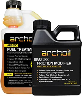 Archoil Performance Kit P-1 for All Vehicles - 16oz AR9100 Friction Modifier + 16oz AR6200 Fuel Treatment