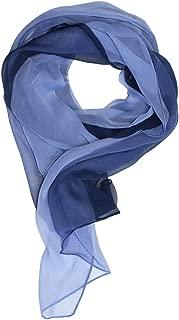 ombre silk chiffon