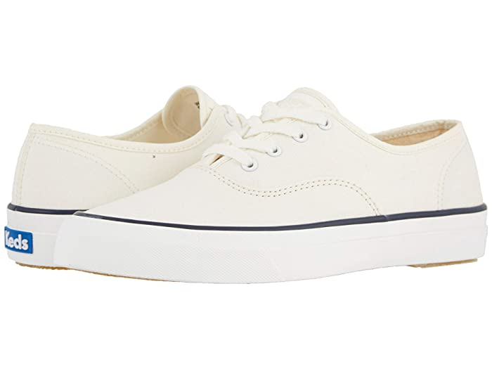 Vintage Sneakers for Men and Women Keds Surfer Canvas Cream Womens Shoes $39.99 AT vintagedancer.com