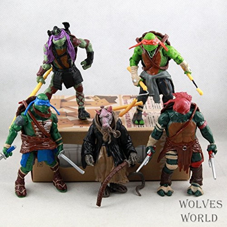 Ch&Ch 2014 film version of Teenage Mutant Ninja Turtles 5 5 bags of rat turtle doll hand to do fine model