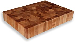 Maple End Grain Chopping Block 20 x 15 x 3 1/2