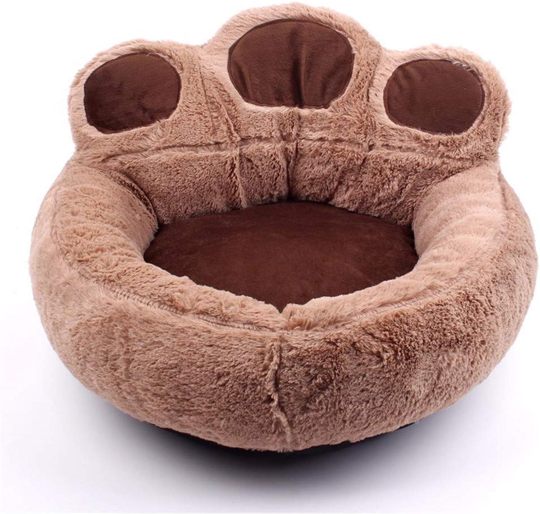 HuaxinruJ Small dog Teddy Pet Pad Panda Paw Dog House Cat House