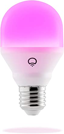 LIFX Mini (E27) Wi-Fi Smart LED Light Bulb, adjustable, multicolour, dimmable, no hub required, works with Alexa, Apple HomeKit and the Google Assistant