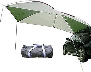 thorityau Auvent de voiture, tente de camping familiale, auvent extérieur imperméable, portable, pare-soleil pour voiture,...