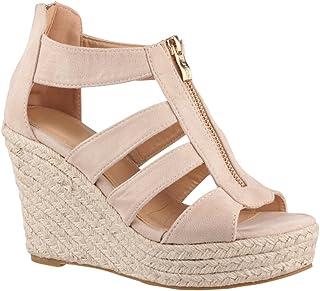 7ba5a0c4c5b881 Amazon.fr : talon compensé : Chaussures et Sacs