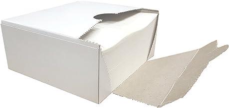 Square Wax Paper Sheets - Hamburger Patty Paper Squares (500 Sheets)