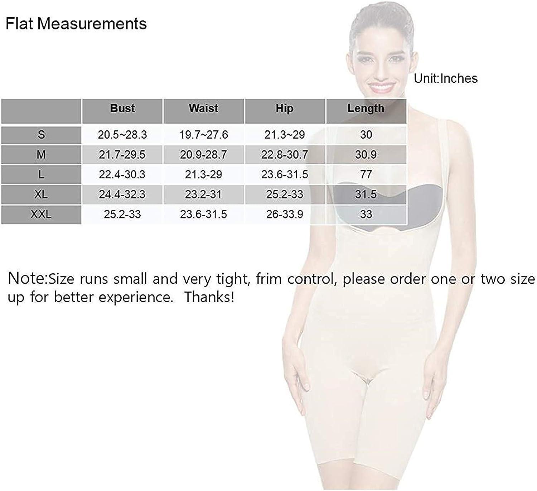 KHAYA Womens Shapewear Seamless Control Body Shaper Slim Open Butt Shaping Bodysuit
