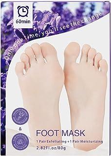 Foot Peel Mask 2 Pair,Exfoliating and moisturizing Foot Peeling Mask For Foot Care,Peeling Off Calluses & Dead Skin, Makin...