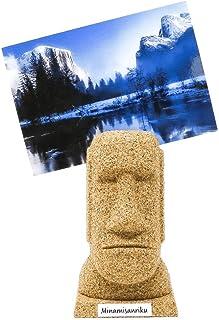 モアイフォトスタンド 写真立て キャラクター インテリア雑貨 モアイ像の置物 おもしろオブジェ