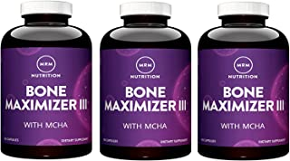 MRM Bone Maximizer III, 150 Capsules (Pack of 3)