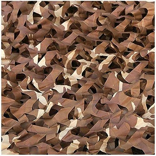 Filet d'ombrage ZXMEI Filet De Camouflage, Couche De Camping Durable Et Légère for La Prévention De La Photographie Aérienne (Taille   2x8m)