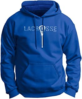 ThisWear Lacrosse Word Collage Lacrosse Fan Gift Premium Hoodie Sweatshirt