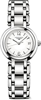 Longines Primaluna White Dial Stainless Steel Ladies Watch L81104166