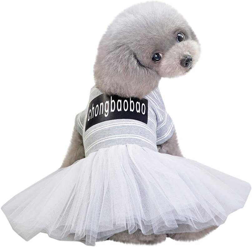 Year-end gift Pet Dog Dress Cute Girl Dogs Large discharge sale Princess Jumpsuit Skirt Puppy Lace