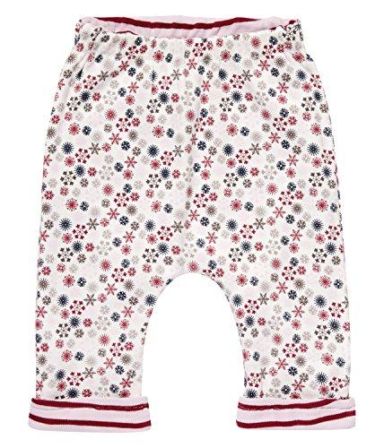 Sense Organics Baker Hose (beidseitig tragbar) aus Bio-Baumwolle GOTS-Zertifiziert Pantalon, Multicolore (AOP Multi Ditzy + Stripes), 12 Mois Bébé Fille