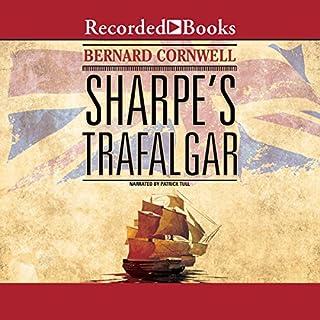 Sharpe's Trafalgar audiobook cover art