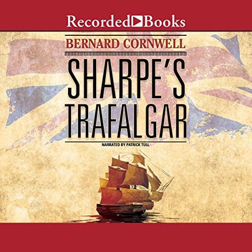 Sharpe's Trafalgar cover art