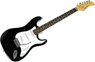 New Karrera Electric Guitar Music String Instrument Black