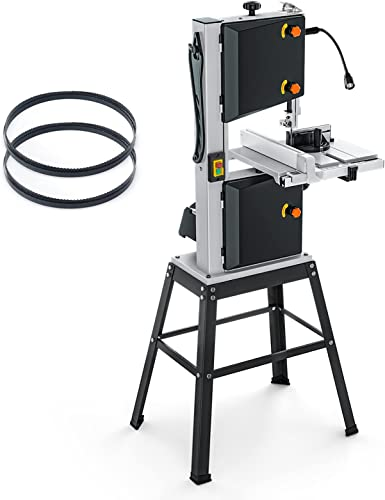 high quality 10-Inch 3.5-Amp Band outlet online sale Saw, 2160FPM & 3150FPM, outlet online sale Movable LED Worklight, 0°to 45°Bevel Cutting, Band Saw with Additional Blade - PBS01A online
