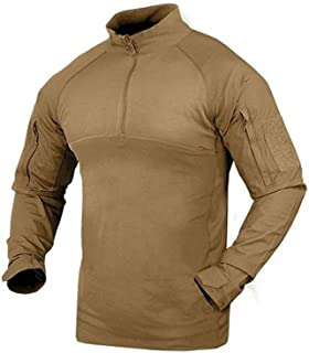101065-003-XL Combat Shirt - Tan - Size XL