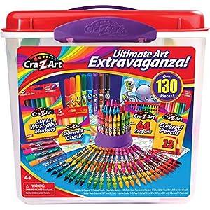 Cra-Z-Art 130 PC Ultimate Art Extravaganza Tub Childrens-Painting-Kits (Piece)