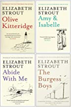 Elizabeth Strout 4 Books Collection Set (Olive Kitteridge, Amy & Isabelle, Abide With Me & The Burgess Boys)