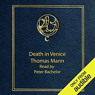 Death in Venice audiobook cover art