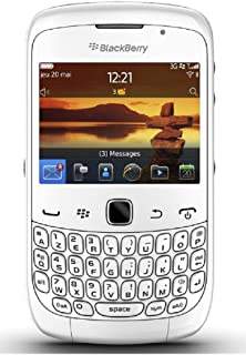 Blackberry Curve 3G 9300 Unlocked GSM Phone with QWERTY Keyboard, Touch-Sensitive Optical Trackpad, 2MP Camera, Video, GPS, Wi-Fi, Bluetooth, MP3/MP4 Player and microSD Slot - White