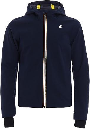 Veste Giubbino K-way uomo jack bonded jersey k007lvo k89 blue depth estivo ss18 Manteaux et vestes pour homme
