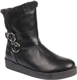 Flat n Heels Womens Black Boots FnH 6203-A4-BK