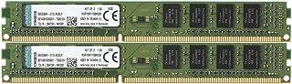 キングストン Kingston デスクトップPC用 メモリ DDR3 1600 (PC3-12800) 4GBx2枚 CL11 1.5V Non-ECC DIMM 240pin KVR16N11S8K2/8 永久保証