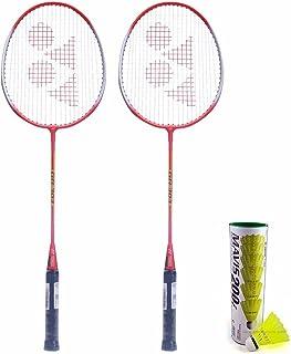 Yonex GR 303 Aluminum Badminton Kit, Red