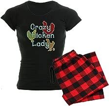 CafePress Crazy Chicken Lady Women's Dark Women's PJs