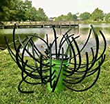 Green Blob Outdoors Fish 'N A Barrel Artificial Fish Habitat Tree for Ponds, Lakes, Docks, Creates Dense Structure, Brush Reef,