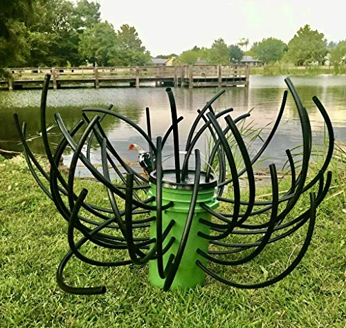 Green Blob Outdoors (Quantity of 3 Kits, Fish N A Bucket Fish Habitat for Ponds, Rivers, and Lakes