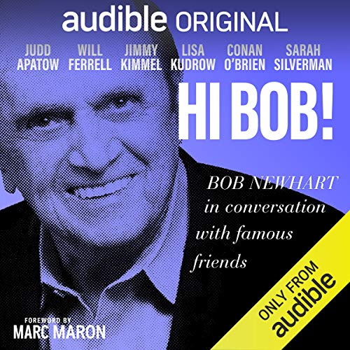 Hi Bob! audiobook cover art