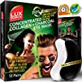 Under Eye Mask Charcoal Collagen Eye Mask Sports Under Eye Pads Anti-Aging Hyaluronic Acid Eye Patches Gel Eye Patch for Moisturizing & Reducing Dark Circles Puffiness Wrinkles Crow's Feet