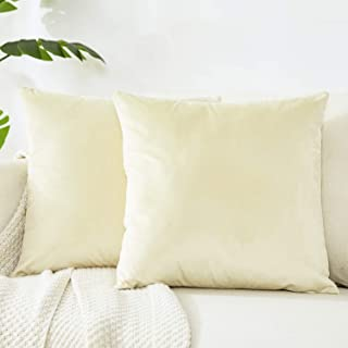 Beige Throw Pillow