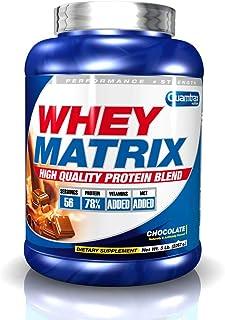 Quamtrax Nutrition Whey Matrix. Sabor Chocolate - 2270 gr