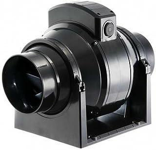 MANROSE MF100T - Ventilador Extractor en Línea con Temporizador Flujo Mixto