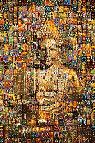 Puzzles for Adults 500 Pieces,Buddha Puzzles,Wooden Puzzle,The Pattern is More Spectacular to Watch Over 2 Meters(500 Pieces, Buddha Puzzles)