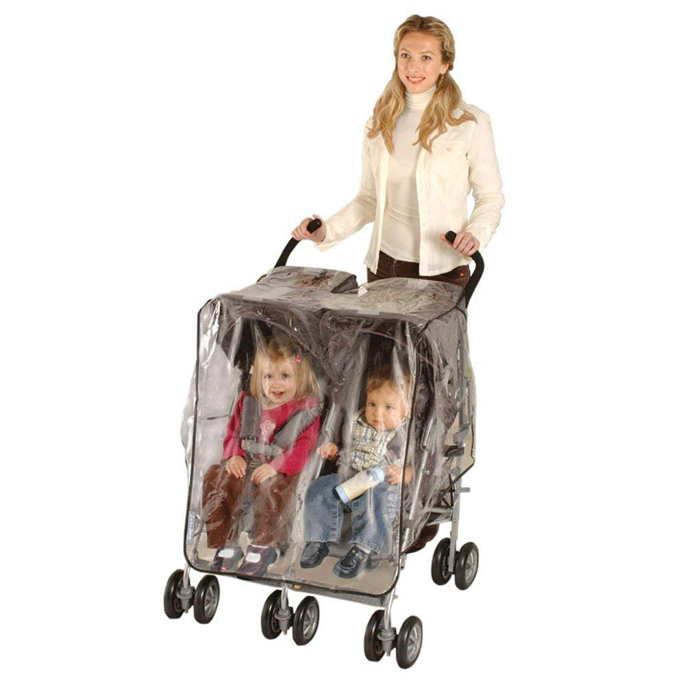 Jeep Side by Side Stroller One Size Weather Shield, White