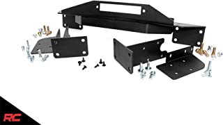 Rough Country Winch Mounting Plate Compatible w/ 1993-1998 Jeep Grand Cherokee ZJ Frame Mount Bracket 1049