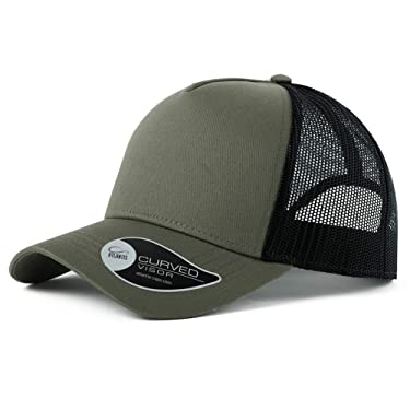 Jeff & Aimy Low Profile Distressed Vintage Baseball Cap for Mens Washed Running Mesh Adjustable Solid Dad Hat