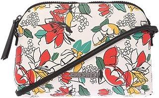 Caprese Womens Zip Closure Sling Bag (White_Free Size)