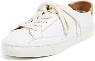 Soludos Women's Ibiza Classic Lace-up Leather Sneaker